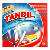 Tandil All-in-1 Power Tabs do Zmywarki 70szt 1,5kg