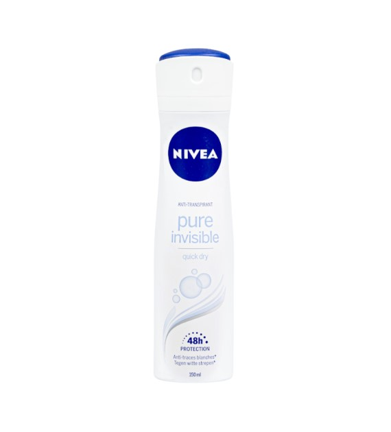 Nivea Pure Invisible Deo 150ml