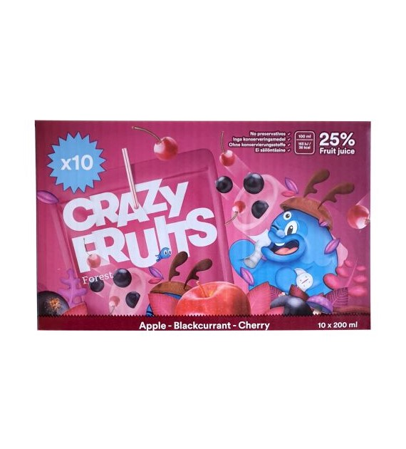 Crazy Fruits Forest 10x200ml