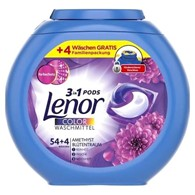 Lenor 3in1 Pods Color Amethyst 54+4p 1,5kg